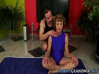 Ass Toyed Granny Spunked