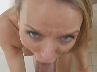 This Hot Milf Had An Easy Job At Seducing Her Son With A Blowjob