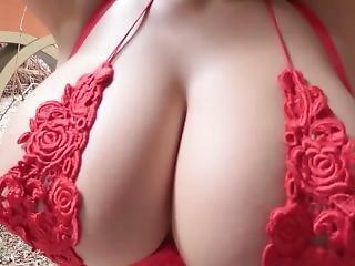 Saki Yanase -massive Tits Tease & Bounce [softcore Non-nude]