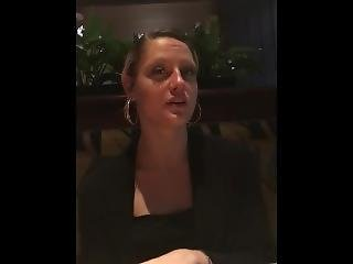 Sexy Blonde Complaining About Red Lobster Biscuits