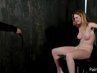 Pretty Slut Ashley Lane Bondage And Harsh Whipping Make Her Crying