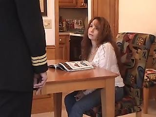 Teen Daughter Spanked Otk For Not Listening To   Father