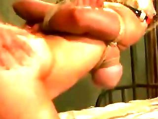Hogtied Bitch Suffering At The Dungeon
