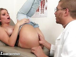 Wankz - Hot College Girl Fucked Hard By Fake Doctor!
