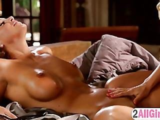 Superb Babes In Hot Threesome Action