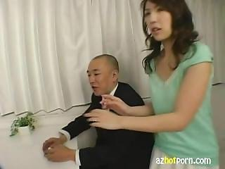 Azhotporn - Lewd Office Lady Hardworking Woman