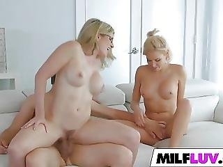 Milfs Kacey Jordan And Cory Chase Share A Dick