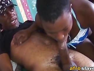 African Babes Sucking Pulsating Cocks At Party