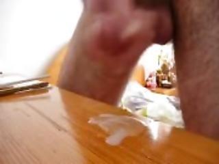 amateur, anal, grosse bite, poilue, branlette, à la maison, tourné à la maison, masturbation, petite, sperme