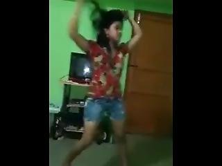 Desi New Married Girl First Night Dance Before Fucing