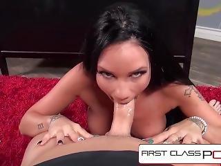 Firstclasspov - Raven Bay Sucking Principals Monster Cock, Big Boobs