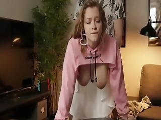 Big Booty College Bitch Fucked Hard By Neighbor From Behind