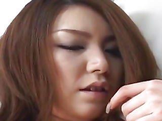 Rio Sakaki Busty Has Hairy Vagina Pumped
