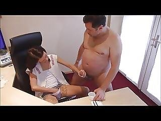 Helping To Take A Sperm Sample