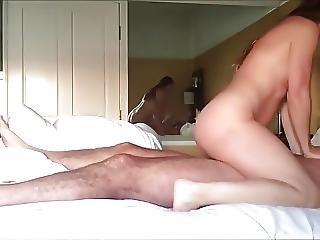 Man With Beard Fucks Woman In Bedroom