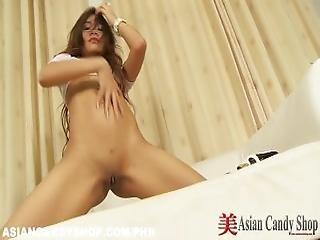 Hot Thai Teen Solo Striptease