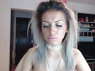 Nice Fake Tits On Cam Who Is She