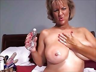 δονητής, ώριμη, milf, webcam