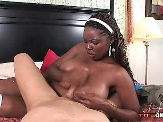 Stacy Adams - Mocha Mammed Maid (tits And Tugs)
