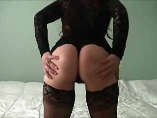 Hot Wife Thong Dancing