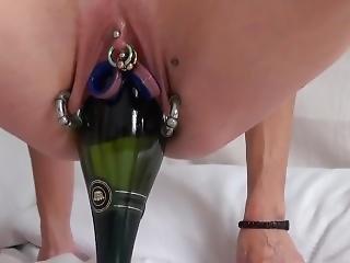 anaal, fles, dubbele penetratie, extreem, fetish, vuisten, milf, pentratie, doorboord, spellen