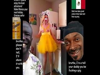 Mr Bob Uses His Fucking Stupid Crack Whore Girl For Pussy And Evil Doings