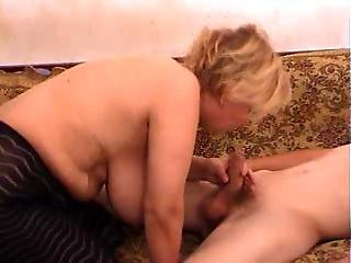 Chic Mom With Huge Natural Tits And Not Her Stepson Fuck