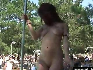 Blonde, Busty, College, Compilation, Debauchery, Masturbation, Nude, Party, Public, Wild
