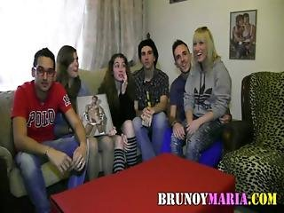 Brunett, Gangbang, Latinska, Orgie, Sexig, Sex, Swinger, Taxi, Tonåring, Ung