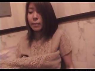 Sweet Japanese Teeny Having Her Hairy Petite Quim Finger Fucked
