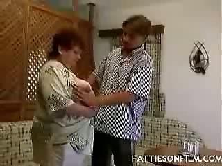 Old Big Nice Woman Shaft Tease
