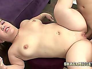 Midget Babe Lisa Gets It Doggystyle