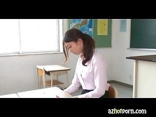 Azhotporn - Schoolgirl Bondage Blowjob Bukkake