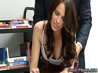 Jizz Faced Teenager Pound