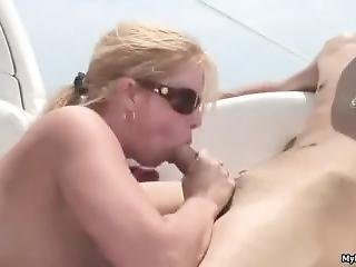 Blonde Milf Cameron Keys Sucks And Fucks On A Boat