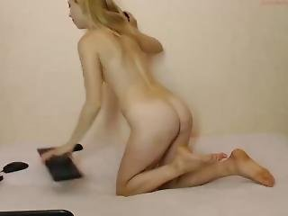 Very Hot Ukrainian Girl Playing With Her Pussy To Orgasm