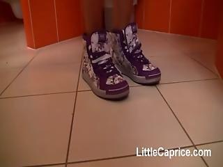 Little Caprice Footjob Sex With Cumshot