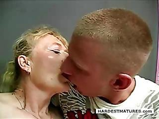 Lusty 70plus Granny Fucks Young Hunk