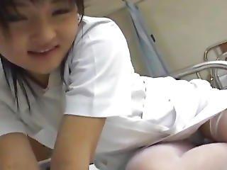 Miku Hoshino Nurse Sucks Dildo She Fucks With