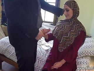 Arab Babe Masturbating No Money, No Problem