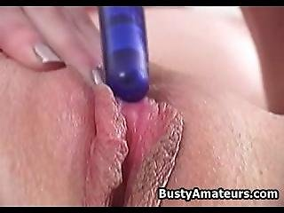 Busty Ginger On Hot Masturbation