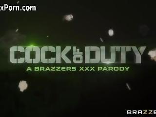 Telexporn.com - Cock Of Duty (a Xxx Parody) � Trailer-brazzers