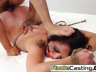 Holly Hendrix Cunt Is Brutally Destroyed In Casting
