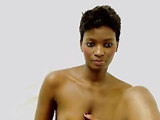 μαύρο, Ebony, ρόγες, μικρά βυζιά, Webcam