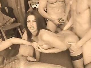 Italian Wife Gangbanged