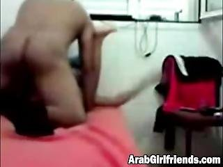 Arab Chick Gets Her Pussy Pounded By Chubby Dude