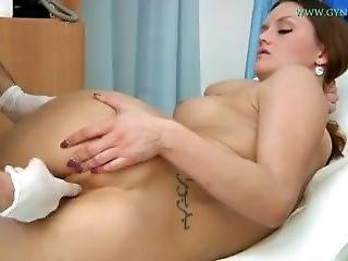 Gyno-x Barbara - Anal Exam And Enema