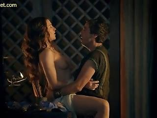 Lucy Lawless Nude Sex Scene In Spartacus Series Scandalplanet.com