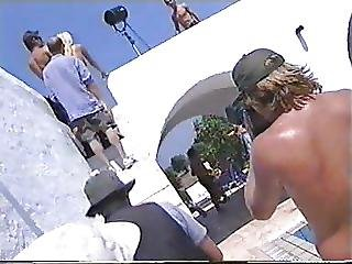 Backstage Calendario Alessia Marcuzzi 2000