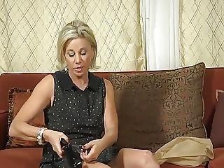 50s Woman Uses Pump